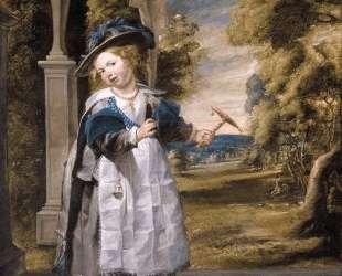 Portrait of the Painter's Daughter Anna Catharina Oil on canvas — Якоб Йорданс