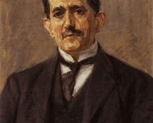 Portrait of the publisher Bruno Cassirer — Макс Либерман