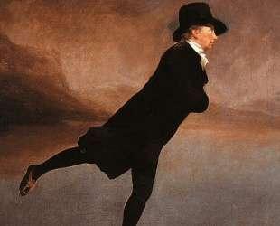 Portrait of The Reverend Robert Walker Skating — Генри Реборн