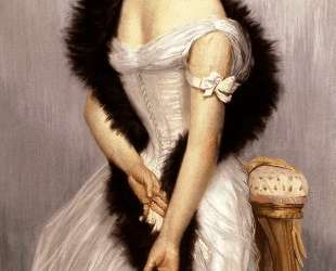Portrait of the Vicomtesse de Montmorand — Джеймс Тиссо