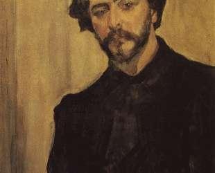Портрет писателя Леонида Андреева — Валентин Серов