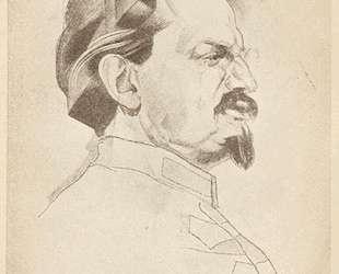 Портрет Троцкого — Юрий Анненков