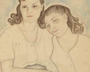 Portrait of Two Girls — Маревна