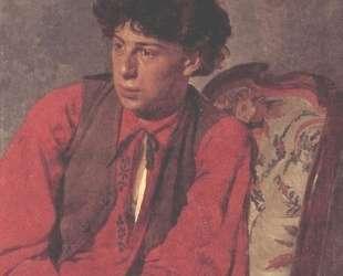 Portrait of V. E. Repin, the Artist's brother — Илья Репин