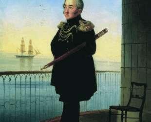 Портрет вице-адмирала М. П. Лазарева — Иван Айвазовский