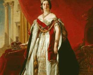Portrait of Victoria of the United Kingdom — Франц Ксавер Винтерхальтер