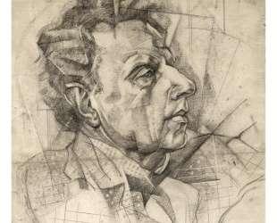 Portrait of Vsevolod Meyerhold — Юрий Анненков