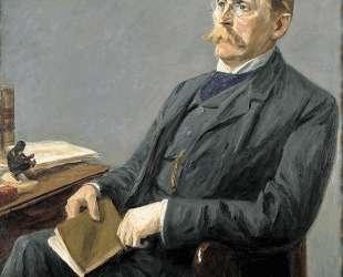 Portrait of Wilhelm Bode — Макс Либерман
