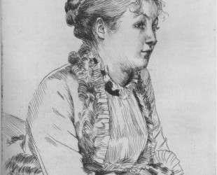 Portrait of woman — Альберто Джакометти