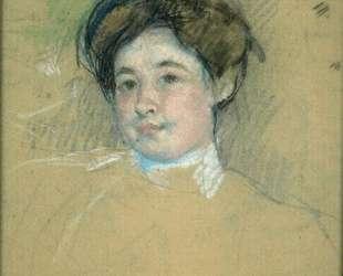 Портрет молодой женщины — Мэри Кассат