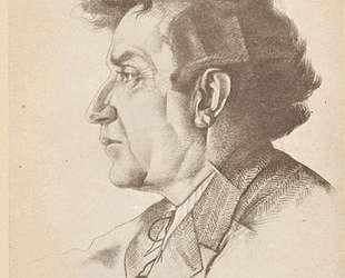 Портрет Зиновьева — Юрий Анненков