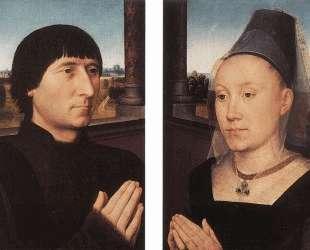 Портрет Виллема Мореля и его жены — Ганс Мемлинг