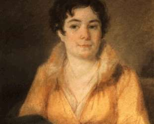 Portret of L. A. Stromilova — Алексей Венецианов