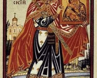 Князь Андрей Боголюбский — Иван Билибин