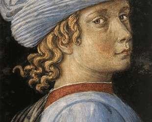 Procession of the Magus Caspar (detail) — Беноццо Гоццоли