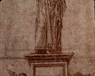 Project for a monument to Virgil — Андреа Мантенья