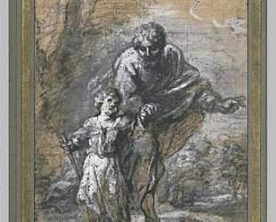 Promenade St. Joseph and The Infant Jesus — Бартоломе Эстебан Мурильо