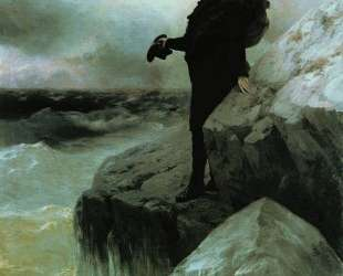 Прощание Пушкина с Черным морем — Иван Айвазовский
