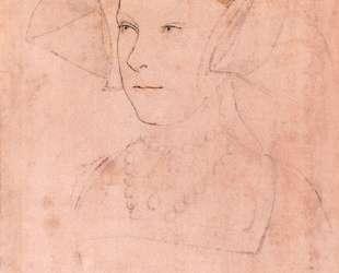 Queen Mary I Tudor — Ганс Гольбейн Младший