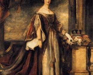 Queen Victoria (detail) — Дейвид Уилки