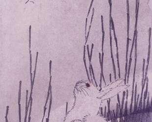 Rabbits Under Moon — Хиросиге