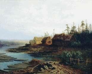 Плоты — Алексей Саврасов