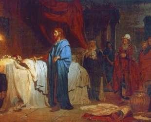 Воскрешение дочери Иаира — Илья Репин