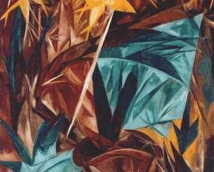 Rayonist lilies — Наталья Гончарова