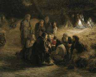 Чтение положения 19 февраля 1861 года — Григорий Мясоедов