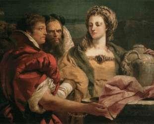 Rebecca at the Well — Джованни Доменико Тьеполо