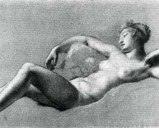 Reclining female nude — Пьер Поль Прюдон