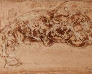 Reclining Figure of a Horse — Марк Тоби