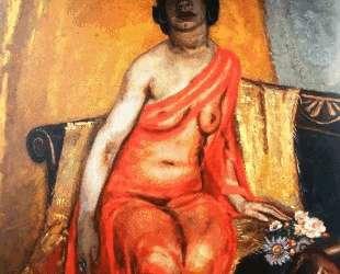 Recumbent female nude — Ян Слёйтерс