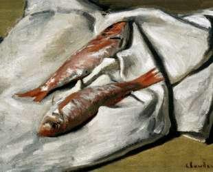 Красная кефаль — Клод Моне