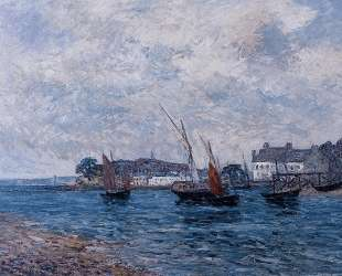 Reentering Port at Douarnenez (Finistere) — Максим Мофра