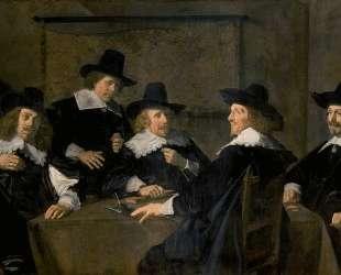 Regents of the St. Elisabeth's Hospital, Haarlem — Франс Халс
