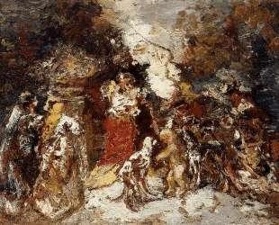Rendezvous under the Flowered Bower — Адольф Жозеф Тома Монтичелли