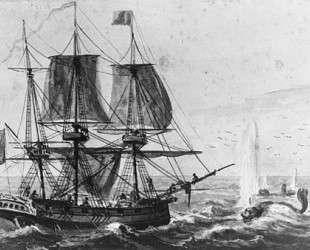 Replenishing the Ship's Larder with Codfish off the Newfoundland Coast — Павел Свиньин