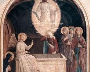 Воскресение Христа и женщины у гроба — Фра Анджелико