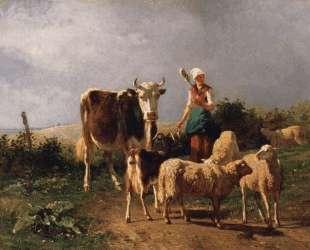 Возвращение стада — Фёдор Васильев