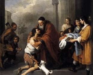Return of the Prodigal Son — Бартоломе Эстебан Мурильо