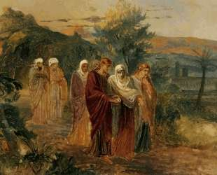 Возвращение с погребения Христа — Николай Ге