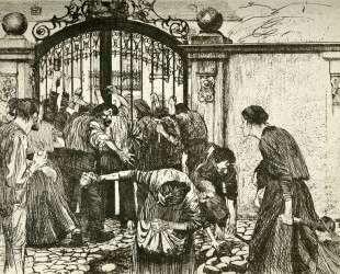 Revolt (By the Gates of a Park) — Кэте Кольвиц