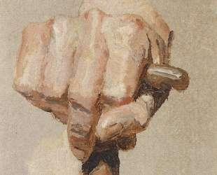 Кисть правой руки, сжимающей посох — Василий Поленов