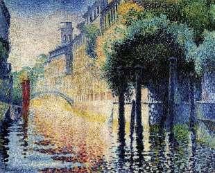 Rio San Trovaso, Venice — Анри Эдмон Кросс