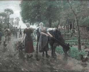 Road in Dutch Village — Макс Либерман