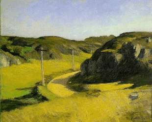 Road in Maine — Эдвард Хоппер