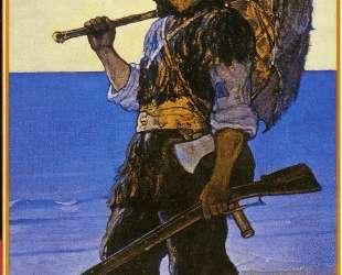 Robinson Crusoe illustration — Ньюэлл Конверс Уайет
