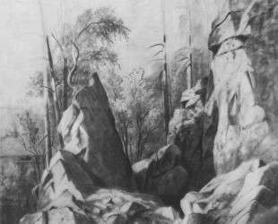 Скалы на острове Валааме. Кукко — Иван Шишкин