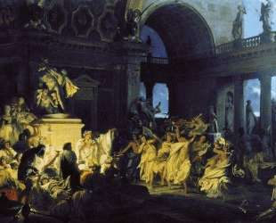Roman Orgy in the Time of Caesars — Генрих Семирадский